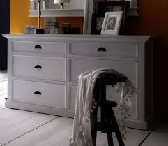 Retro Bedroom Furniture Uk Florence White Painted Mahogany Bedroom Furniture Wide 6 Drawer