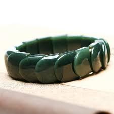 <b>DropShipping Natural XinJiang</b> HeTian Qing Jade Bracelets Lucky ...