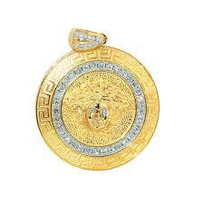 cpy0083 custom medusa head diamond pendant