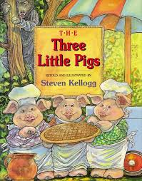 the three little pigs read a sle enlarge book cover