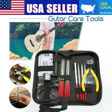 Repairing And Maintenance Details About Guitar Care Tool Repairing Maintenance Cleaning Kit Set For Electric Bass Us