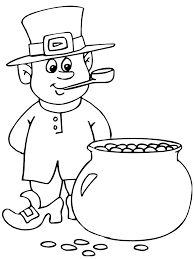 A lot of printable coloring pages can be available on just a couple of clicks on our website. Leprechaun Coloring Pages Best Coloring Pages For Kids