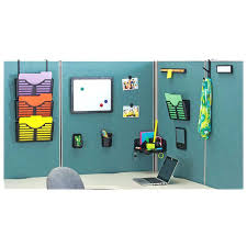 Office Cubicle Hanging Accessories Cubicle Wall Shelves Stylish Desk