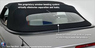 saab 900s se convertible top 95 96 in tan stayfast cloth glass about the window tinted glass window embedded defroster wiring the rear window is securely bonded to the canvas topping material such that there is