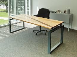 oak office table. Exellent Office Cherrywood Studio  White Oak Office Desk CWS0104 To Table