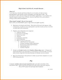 3 High School Senior Academic Resume Examples Farmer Resume