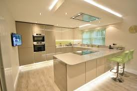 Eye Level Ovens Integrated In The Tall Units Creates More Storage - Kitchens and more