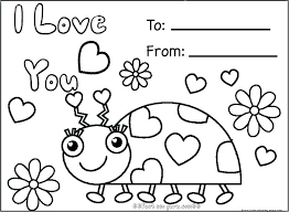 Valentine Day Printable Coloring Pages Free Free Printable