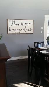 family room wall decor ideas pinterest. this is our happy place wooden sign / large by lavisholivestudios · cute wall decorhallway family room decor ideas pinterest