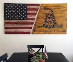 patriotic wall art rustic patriotic wall art