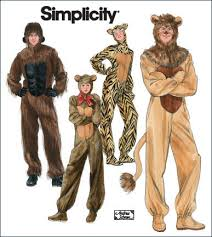 Simplicity Patterns Costumes Amazing Simplicity 48 Adult Gorilla Lion Bear And Cat Costumes
