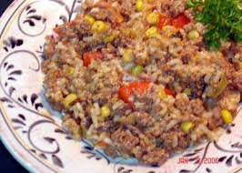 ground beef and rice recipes. Delighful Beef To Ground Beef And Rice Recipes E
