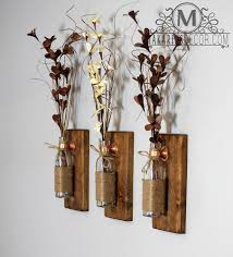... Rustic Wall Sconces ...
