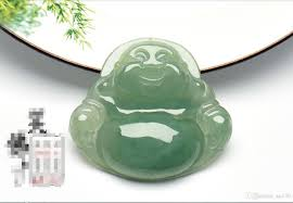 2019 ice penetrating burma jade emerald jade buddha pendant lady laughing buddha natural a cargo big belly maitreya buddha necklace jade pendant from xn130