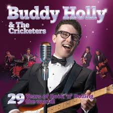<b>Buddy Holly</b> & The Cricketers 2021 - Simon Fielder Productions