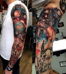 Tattoo безграничный простор в тату стиле космос