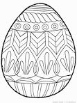 Раскраски яйца на пасху