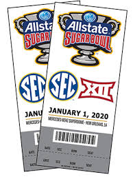 Rose Bowl Game 2018 Seating Chart Allstate Sugar Bowl Tickets How To Get Them Official