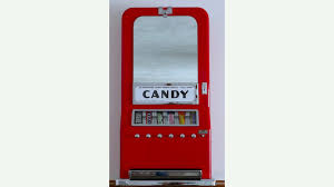 Old Candy Vending Machine Adorable Vintage Candy Vending Machine Restored K48 Indy Road Art 48