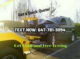 Towing Quote Awesome GTA Scrap Car Towing Towing Etobicoke Toronto ON Phone