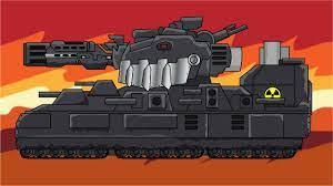 Cách vẽ xe tăng Atomic Monster - Мультики про танки - YouTube