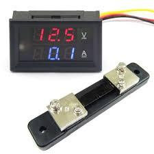 drok dc voltmeter ammeter dual display drok 100176 dc voltmeter ammeter