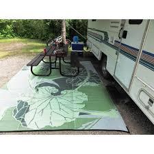 rv camping outdoor rugs designs