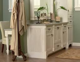 Contemporary Country Bathroom Cabinets Ideas Medallion Cabinetry Platinum Inset Bath Vanity Shown In On Simple