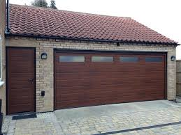 double garage door sectional and side by ltd henderson springs