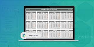 Free Excell Calendar 2019 Excel Calendar Temaplate Download Free Printable