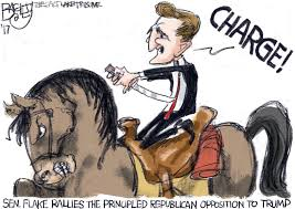 Image result for flake news cartoon