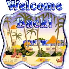 Welcome Back Graphics Magickal Graphics Welcome Back Comments Graphics