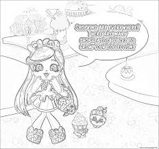 Small Picture SHOPKINS Coloring S Lava Girl Coloring Pages In Adult Coloring