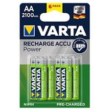 «<b>Аккумулятор VARTA AA</b> 2100mAh BL2 (56706)» — Результаты ...