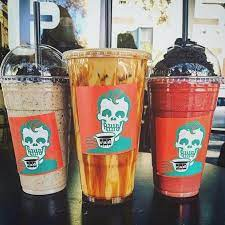 Peets coffee menu includes their. Halloween Drinks From Rad Coffee Popsugar Family