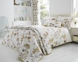 shabby botanical duvet set with pillowcase s in natural duvet sets bedding direct uk