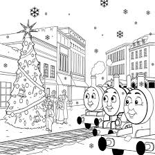 Thomas The Train Coloring Pages To
