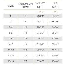 Us Size Chart In Inches Waist Trainer Size Chart Hourglass Angel