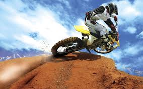 Crazy Motocross Bike wallpaper