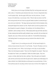 I need help writing a short story