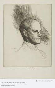 John Galsworthy (Strang No. 737) | National Galleries of Scotland