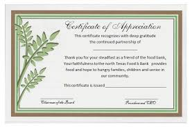 Examples Of Certificates Of Appreciation Wording Inspiration Sample Certificates Of Appreciation Wording Certificate Of