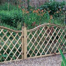 the ideal fencing for small gardens