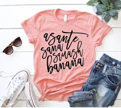 Asante Sana Squash Banana Hakuna Matata Shirt Disney
