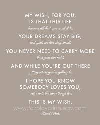 Graduation Quotes For Son Interesting My Wish For You Google Search Words To Live By Pinterest Top
