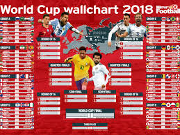 Football League Table Wall Chart World Cup 2018 Wallchart Download Yours For Free With All