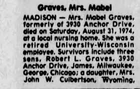 Obituary for Mabel Graves - Newspapers.com