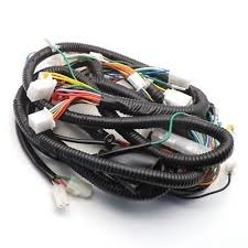 GY6 150CC WIRE HARNESS WIRING ASSEMBLY SCOOTER MOPED performance 11 pole dc magneto stator regulator wiring harness gy6 on scooters performance wiring harness