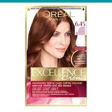 Excellence Creme Light Auburn Hair Color Excellen Creme No 6 45 Light Auburn