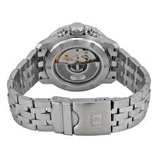tissot prc 200 automatic chronograph black dial stainless steel item specifics